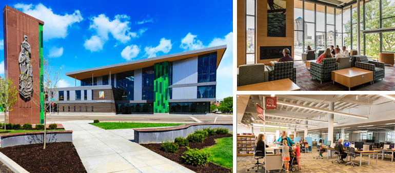 The main public library dayton metro library the main library malvernweather Images