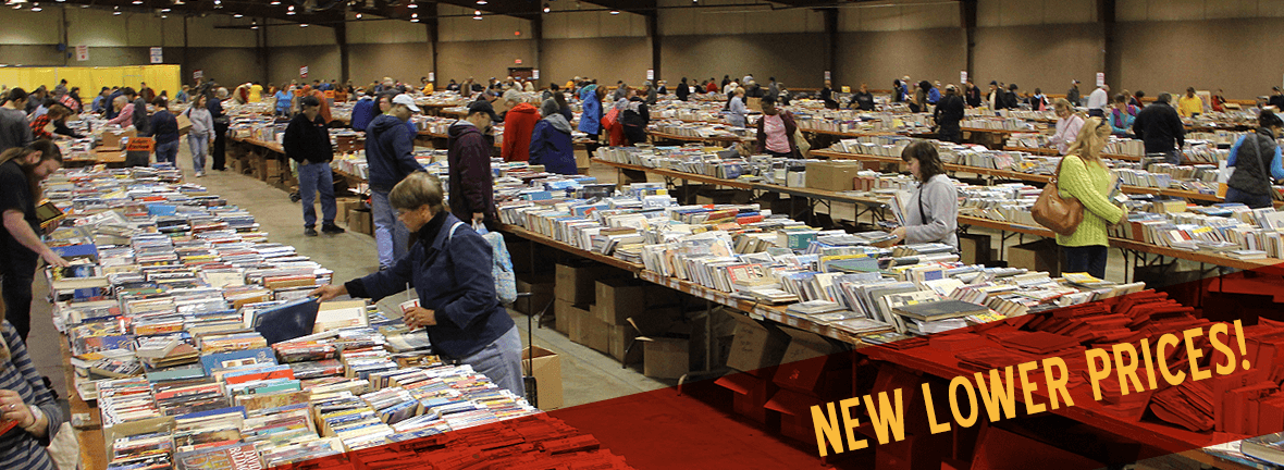 THE BIGGEST BOOKSALE EVER!