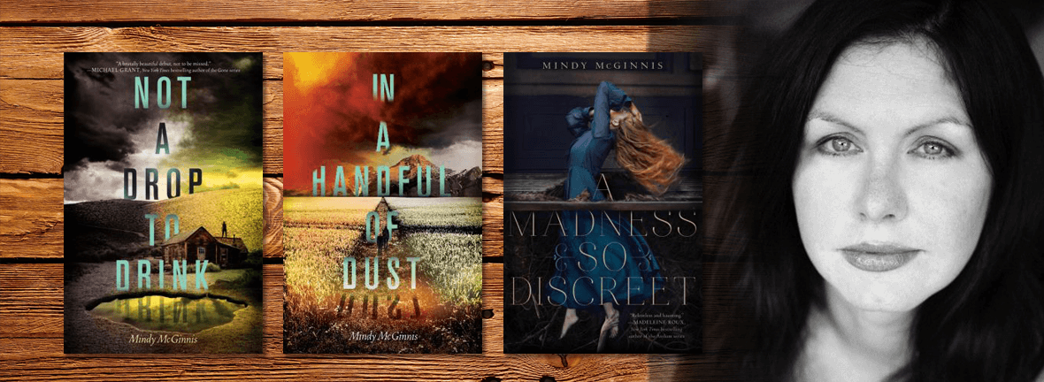 MEET AUTHOR MINDY McGINNIS