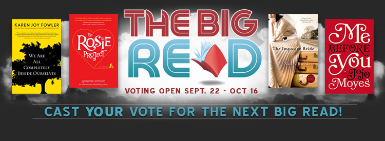 Vote Big Read 2015